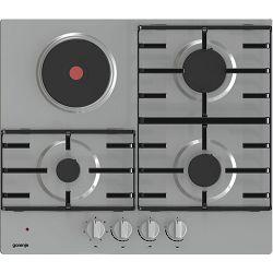 Ploča za kuhanje Gorenje GE680X, kombinirana, inox