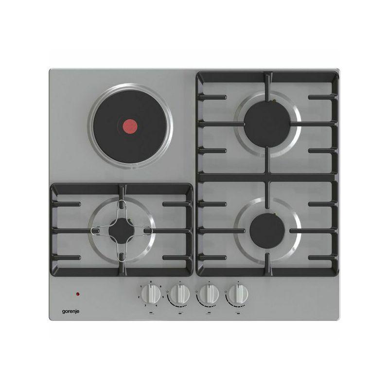 Ploča za kuhanje Gorenje GE681X, kombinirana