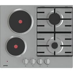 Ploča za kuhanje Gorenje GE690X, kombinirana, inox