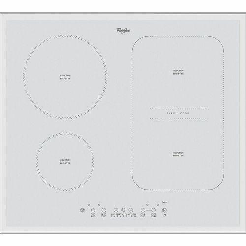 Ploča za kuhanje Whirlpool ACM 808/BA/WH, staklokeramika, indukcija, bijela