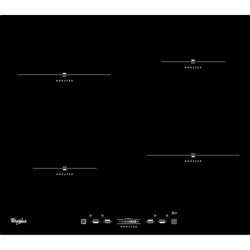 Ploča za kuhanje Whirlpool ACM 836/BA, staklokeramika, indukcijska, crna
