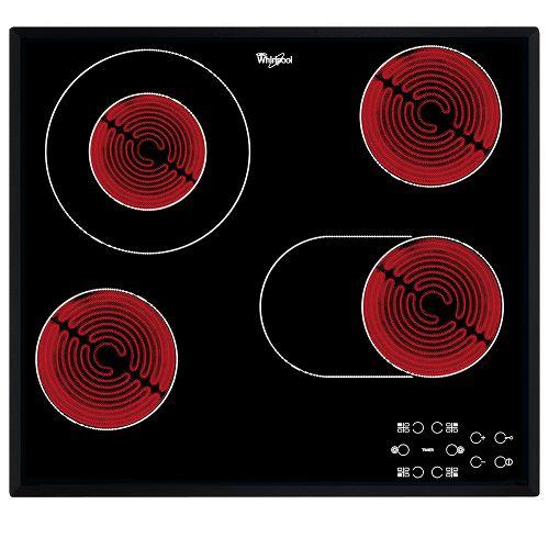 Ploča za kuhanje Whirlpool AKT 8190/BA, staklokeramika, crna