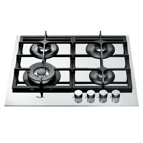 Ploča za kuhanje Whirlpool GOA 6425/WH, staklokeramika, 4 x plin, bijela