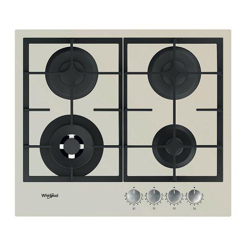 Ploča za kuhanje Whirlpool GOFL 629/S, 4 x plin, srebrna