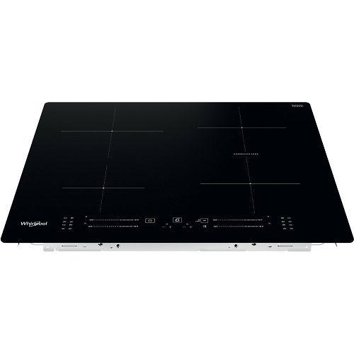Ploča za kuhanje Whirlpool WB S2560 NE, staklokeramika, indukcijska, crna