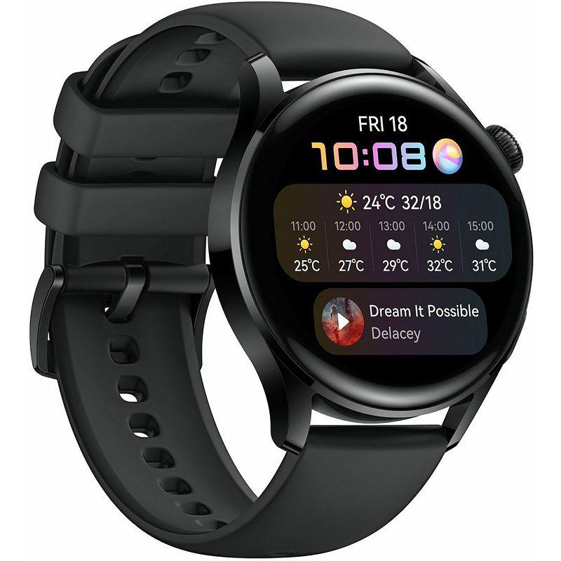 Pametni sat Huawei Watch 3 crni