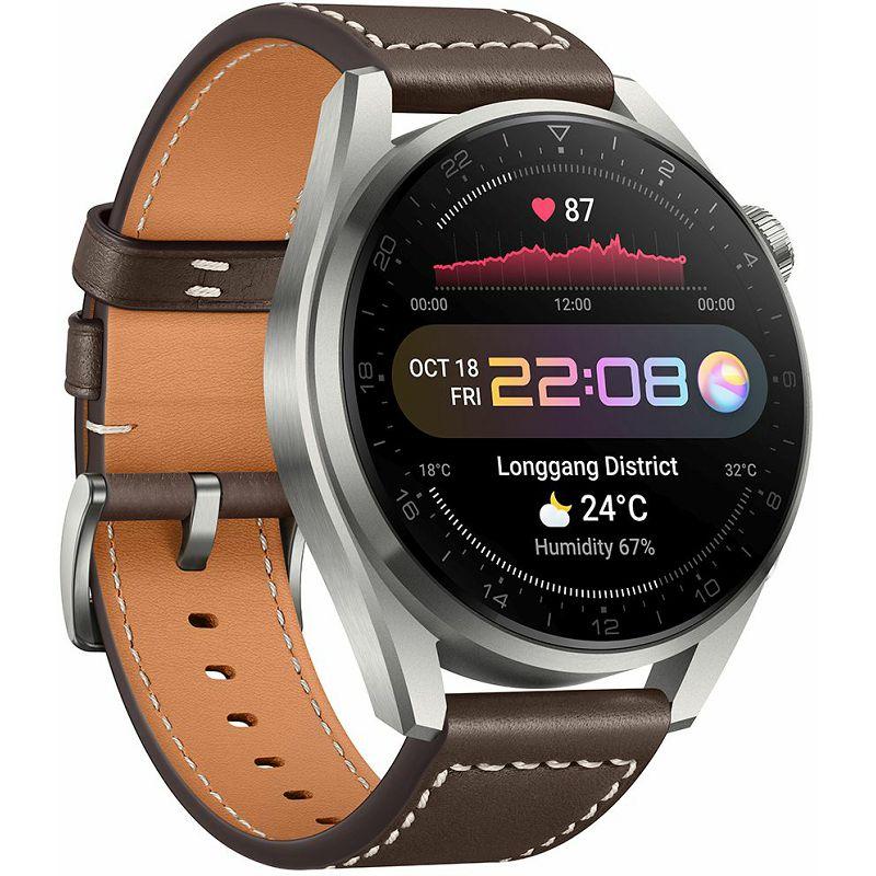 Pametni sat Huawei Watch 3 PRO Titanium Gray