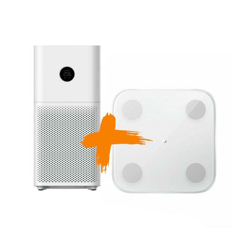 Pročišćivač zraka Xiaomi Mi Air Purifier 3H+Mi Body Composition Scale 2