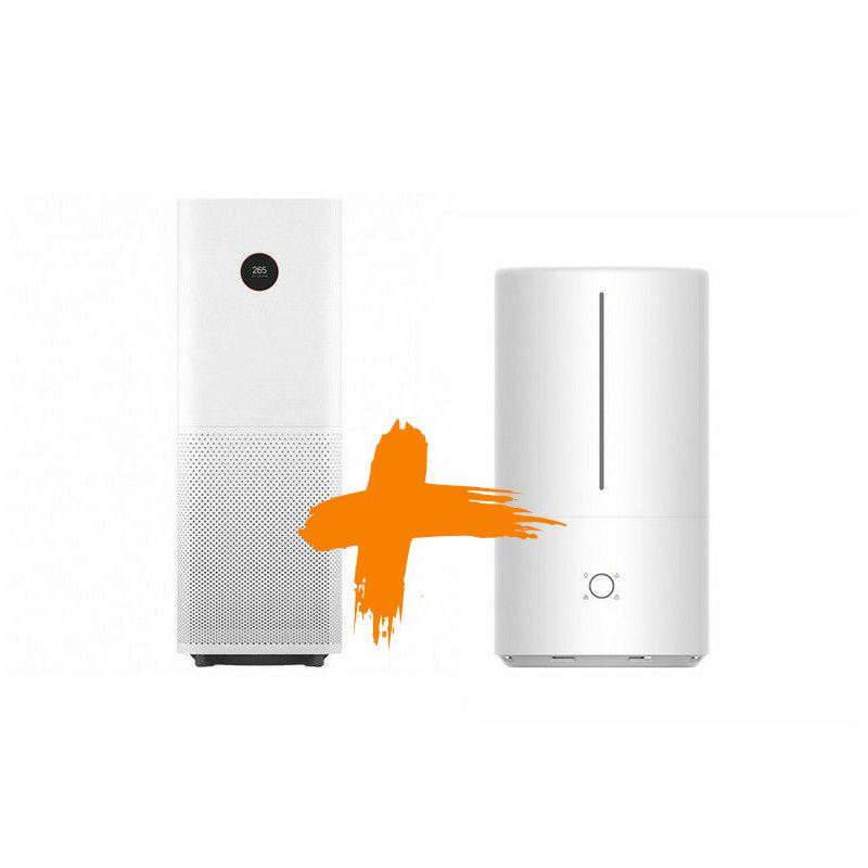 Pročišćivač zraka Xiaomi Mi Air Purifier Pro+Xiaomi Mi Smart Antibacterial Humidifier