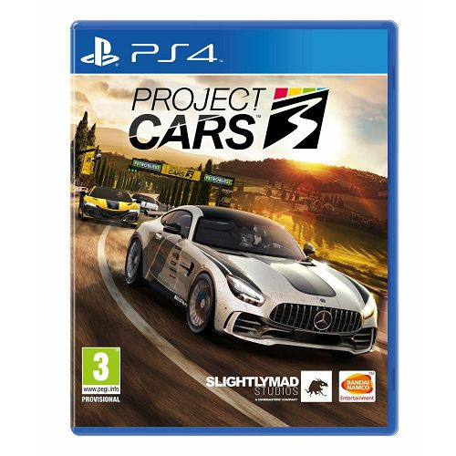Project Cars 3 Standard Edition PS4