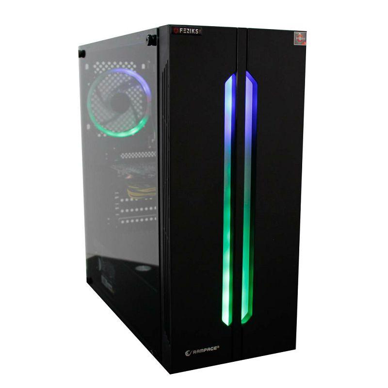 Računalo FENIKS Raven 6028 AMD RYZEN 5 1600/8GB DDR4/NVME SSD 256GB/GTX 1650
