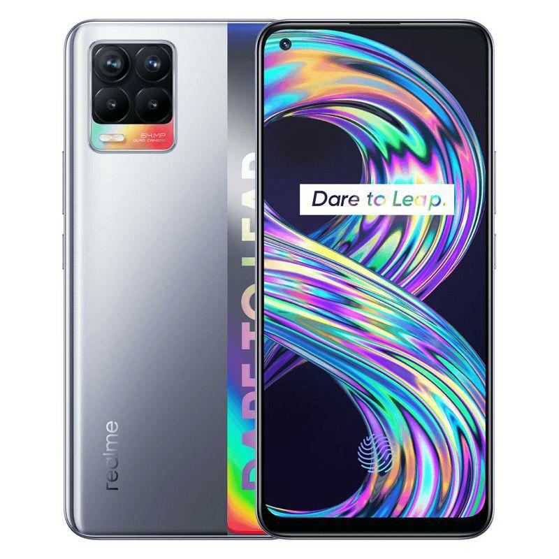Mobitel Realme 8, Dual SIM, 6/128, Cyber Silver