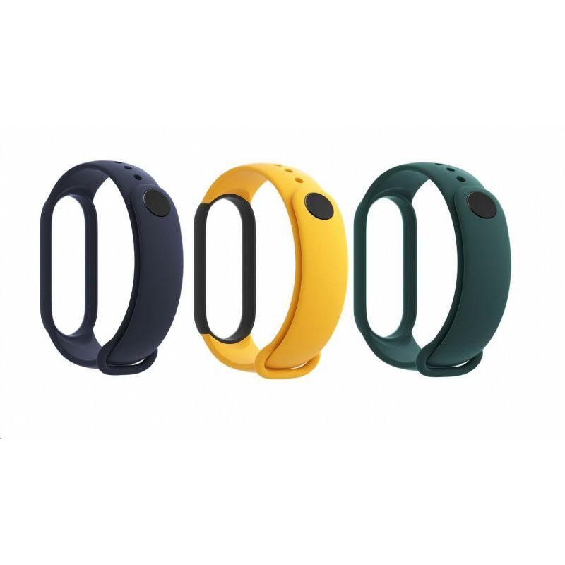 Zamjensko remenje za pametnu narukvicu Xiaomi Mi Band 5 (plava, žuta, zelena)
