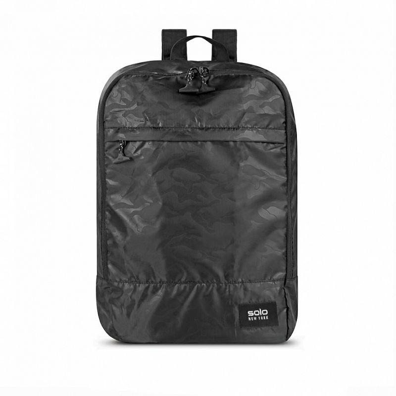 Ruksak za laptop, SOLO NY Packable Backpack, crni