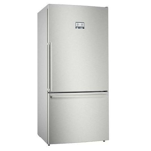 Samostojeći hladnjak Bosch KGB86AIFP, A+++, Low Frost, 193 cm, kombinirani hladnjak, inox