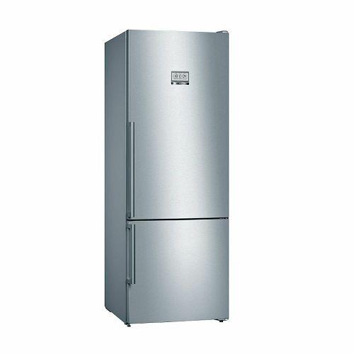 Samostojeći hladnjak Bosch KGF56PIDP, A+++, Low Frost, 193 cm, konbinirani hladnjak, inox