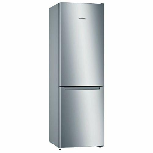 Samostojeći hladnjak Bosch KGN36NLEA, A++, No Frost, 186 cm, kombinirani hladnjak, inox