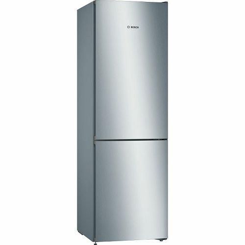 Samostojeći hladnjak Bosch KGN36VLEC, A++, No Frost, 186 cm, kombinirani hladnjak, inox
