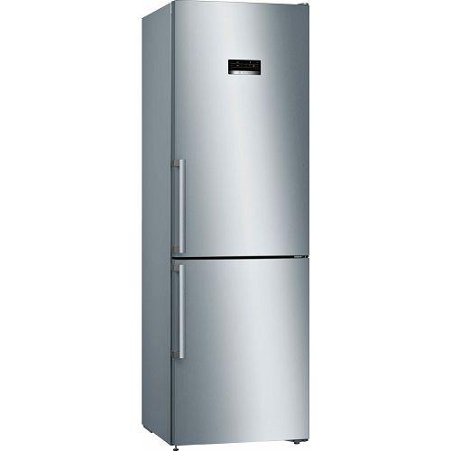 Samostojeći hladnjak Bosch KGN36XLEQ, A++, No Frost, 186 cm, kombinirani hladnjak, inox