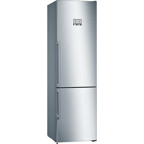Samostojeći hladnjak Bosch KGN39AIEQ, A++, No Frost, 203 cm, kombinirani hladnjak, inox