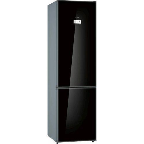 Samostojeći hladnjak Bosch KGN39LBE5, A++, No Frost, 203 cm, kombinirani hladnjak, crni