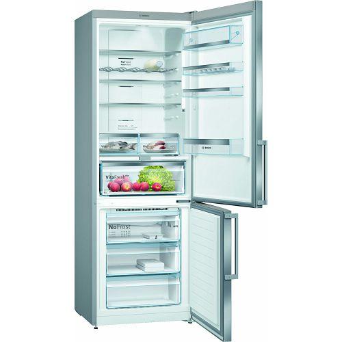 Samostojeći hladnjak Bosch KGN49AIDP, A++, No Frost, 203 cm, kombinirani hladnjak, inox