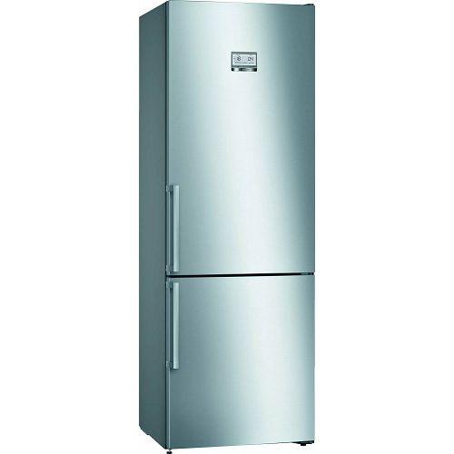 Samostojeći hladnjak Bosch KGN49AIEQ, A++, No Frost, 203 cm, kombinirani hladnjak, inox