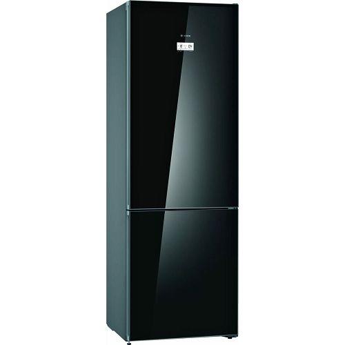 Samostojeći hladnjak Bosch KGN49LBEA, A++, No Frost, 203 cm, kombinirani hladnjak, crni