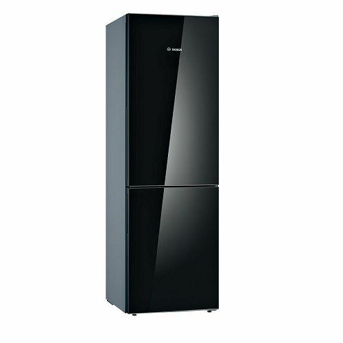 Samostojeći hladnjak Bosch KGV36VBEAS, A++, 186 cm, kombinirani hladnjak, crni
