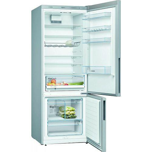 Samostojeći hladnjak Bosch KGV58VLEAS, A++, Low Frost, 191 cm, kombinirani hladnjak, inox