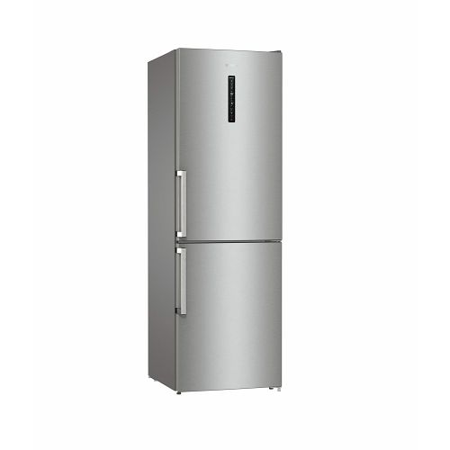 Samostojeći hladnjak Gorenje NRC6203SXL5, A+++, 200 cm, kombinirani hladnjak, inox