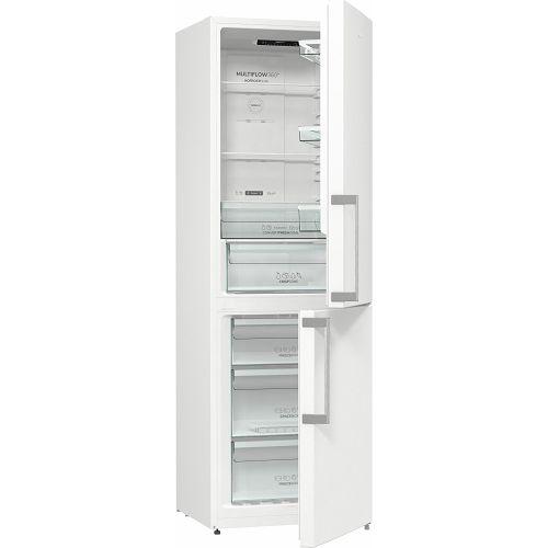 Samostojeći hladnjak Gorenje NRK6191EW5F, A+, 185 cm, No Frost, kombinirani hladnjak, bijeli