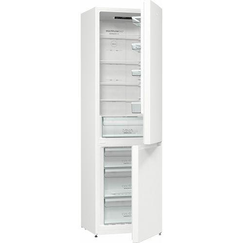 Samostojeći hladnjak Gorenje NRK6202EW4, A++, 200 cm, No Forst, kombinirani hladnjak, inox