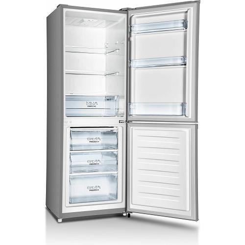 Samostojeći hladnjak Gorenje RK4161PS4, A+, 161.3 cm, kombinirani hladnjak, inox