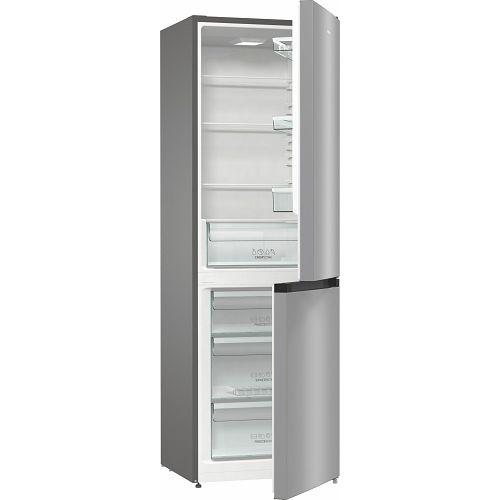 Samostojeći hladnjak Gorenje RK6191ES4, A+, 185 cm, kombinirani hladnjak, inox