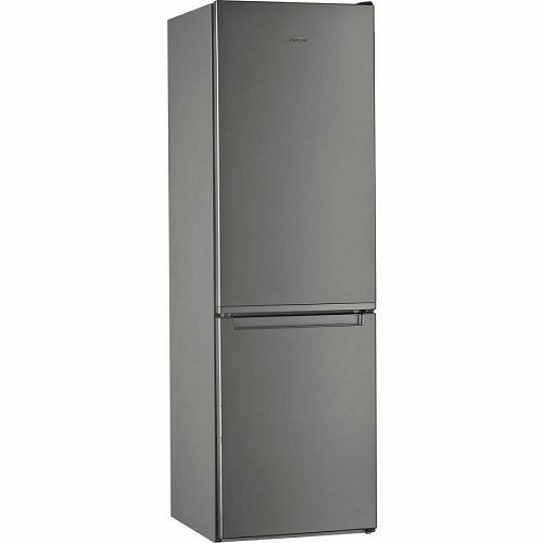 Samostojeći hladnjak Whirlpool W5 811E OX, A+, Low Frost, 188 cm, kombinirani hladnjak, inox
