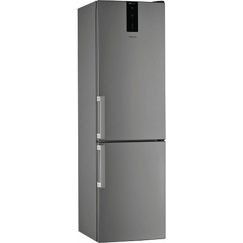 Samostojeći hladnjak Whirlpool W7 921O OX H, A++, no Frost, 201 cm, kombinirani hladnjak, inox