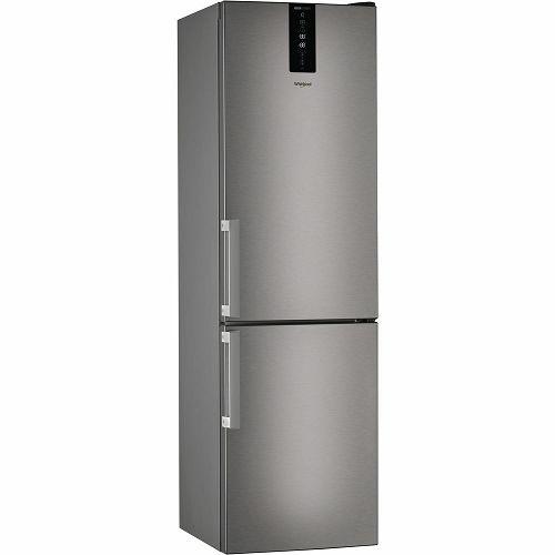 Samostojeći hladnjak Whirlpool W7 931T MX H, A+++, No Frost, 201 cm, kombinirani hladnjak, inox