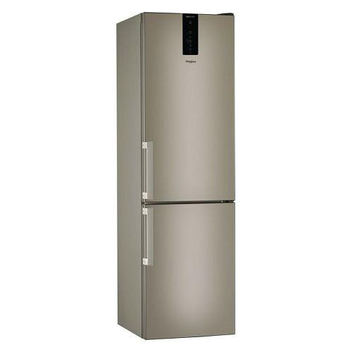 Samostojeći hladnjak Whirlpool W9 931D B H, A+++, No Frost, 201 cm, kombinirani hladnjak, brončana