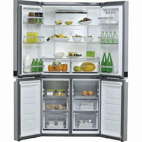Samostojeći hladnjak Whirlpool WQ9 E1L, A+, No Frost, 187 cm, side by side hladnjak, inox