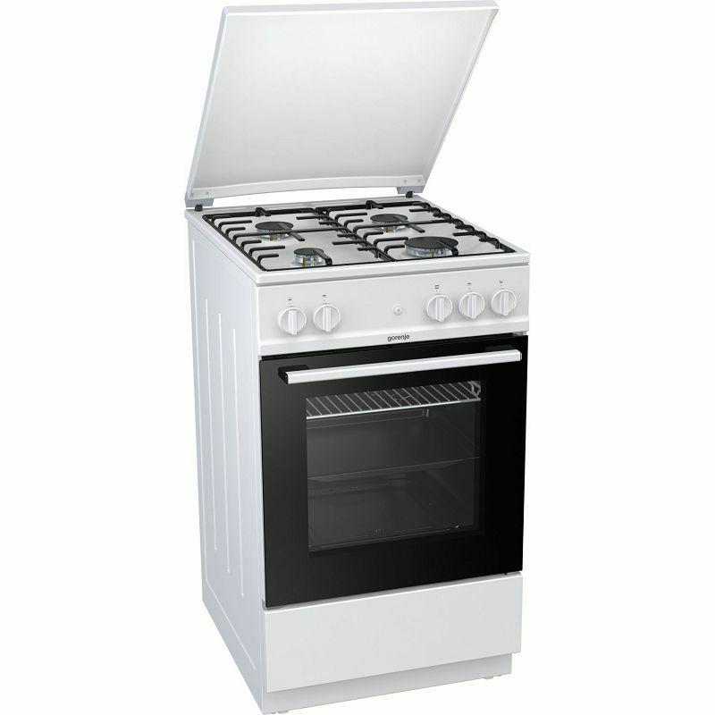 Samostojeći štednjak Gorenje G5115WH, plinska pećnica