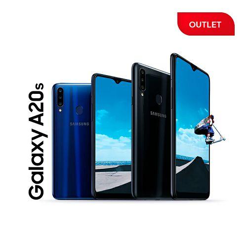 Samsung Galaxy A20s Dual SIM, 32GB/3GB RAM SM-A207F, crni (outlet uređaj)