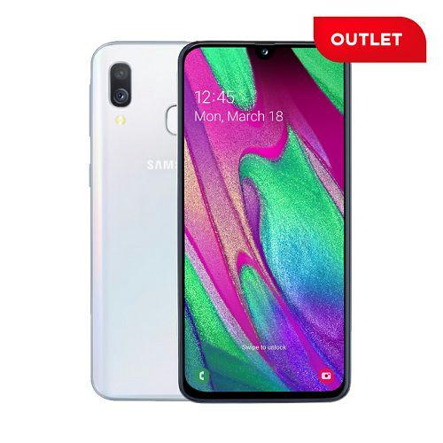 Samsung Galaxy A40, bijeli (outlet uređaj)
