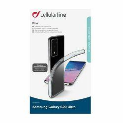 Silikonska maskica za Samsung Galaxy S20 Ultra Cellularline Fine