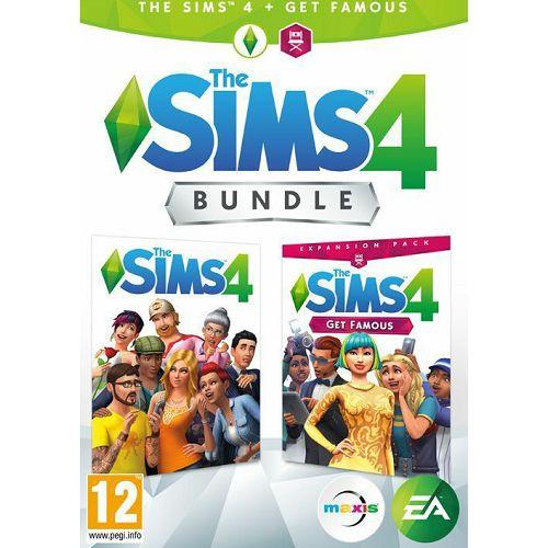 Sims 4 PC game + EP6 Get Famous PC bundle