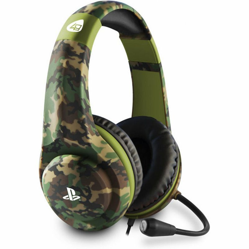 Slušalice 4Gamers Ps4 Camo Edition Stereo Gaming Headset Woodland