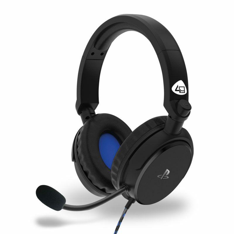Slušalice 4Gamers Ps4 Stereo Gaming Headset Pro4-50S Black