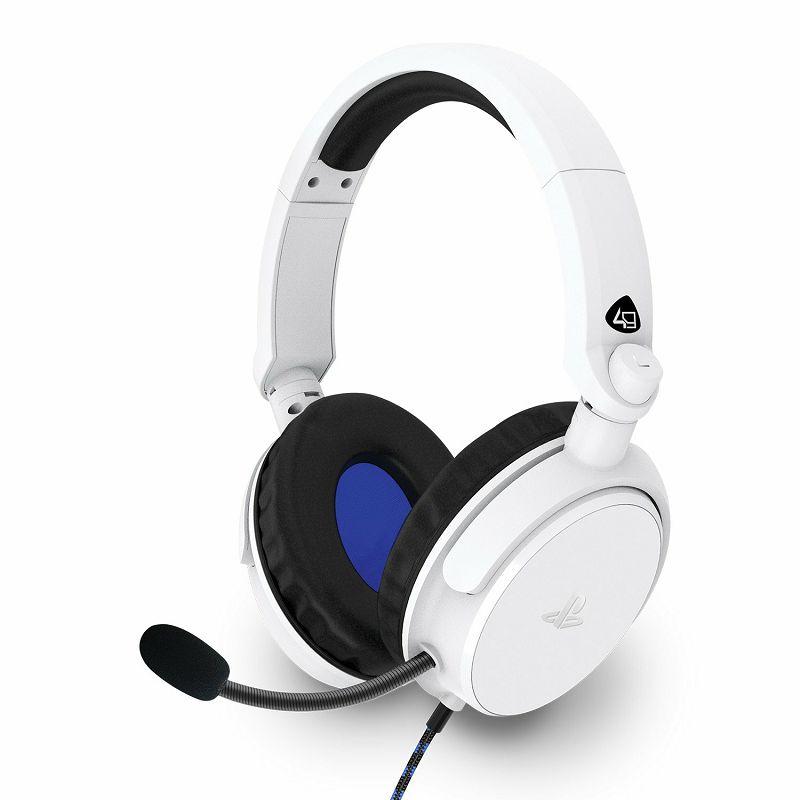 Slušalice 4Gamers Ps4 Stereo Gaming Headset Pro4-50S White