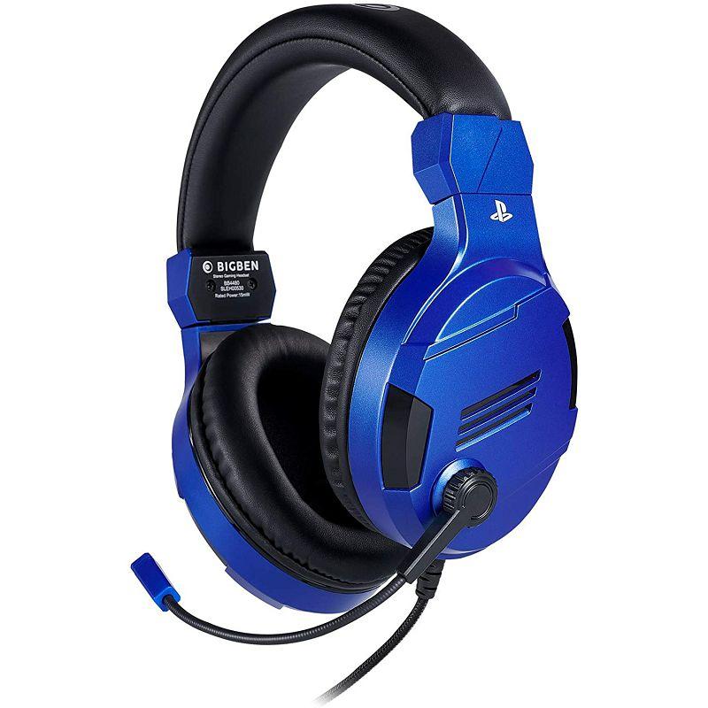 Slušalice BIGBEN PS4 gaming žičane V3, plave