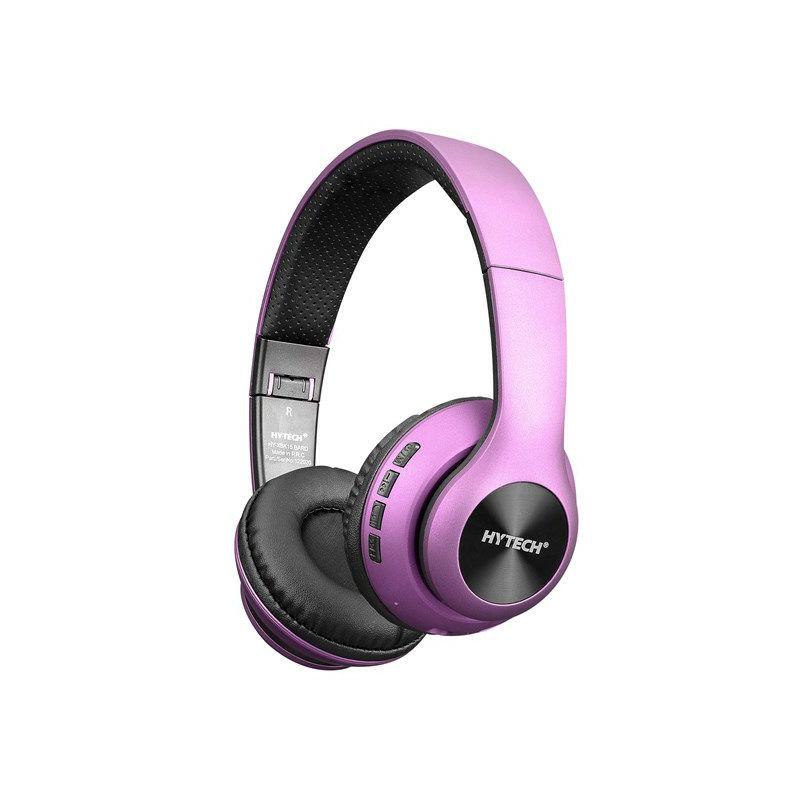 Slušalice HYTECH HY-XBK15 BARD, mikrofon, Bluetooth, ljubičaste